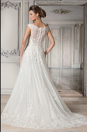 Jasmine Couture 'Nanette Gray' - Jasmine Couture Bridal - Nearly Newlywed Bridal Boutique - 3