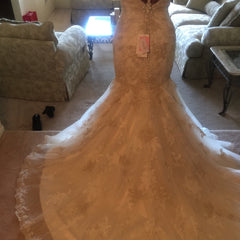 Justin Alexander style #9704 - JUSTIN ALEXANDER - Nearly Newlywed Bridal Boutique - 4