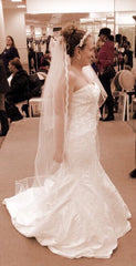 Oleg Cassini 'Strapless' - Oleg Cassini - Nearly Newlywed Bridal Boutique - 2