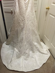 Oleg Cassini 'Strapless' - Oleg Cassini - Nearly Newlywed Bridal Boutique - 3