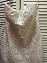 Oleg Cassini 'Strapless' - Oleg Cassini - Nearly Newlywed Bridal Boutique - 5