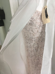 Melissa Sweet 'Embroidered and Beaded' size 14 new wedding dress in bag