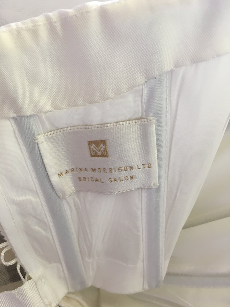 Richard Glasgow 'Tulle' size 8 used wedding dress view of tag