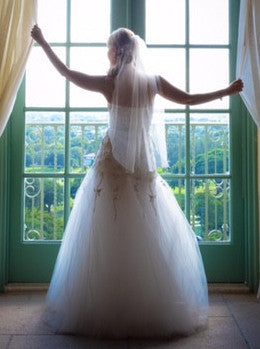 Monique Lhuillier 'La Duree' - Monique Lhuillier - Nearly Newlywed Bridal Boutique - 5