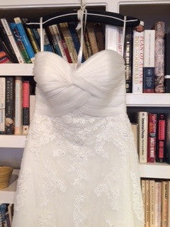 White one 'Lace Dress' - W1 - Nearly Newlywed Bridal Boutique - 1