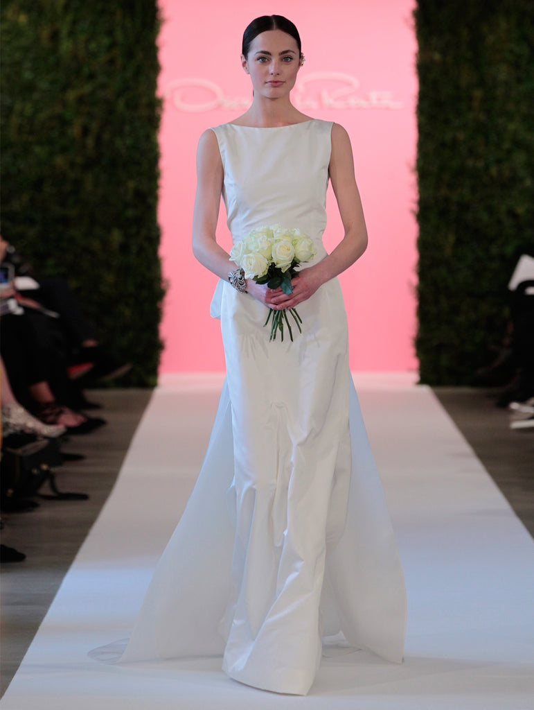 Oscar de la Renta \'Constance\' size 6 used wedding dress - Nearly ...
