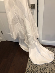 BHLDN 'Emblem' size 4 new wedding dress view of train