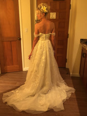 Oleg Cassini 'Organza' - Oleg Cassini - Nearly Newlywed Bridal Boutique - 5
