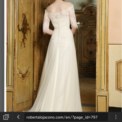 Roberta Lojocono 'Elvira' - roberta lojocono - Nearly Newlywed Bridal Boutique - 2