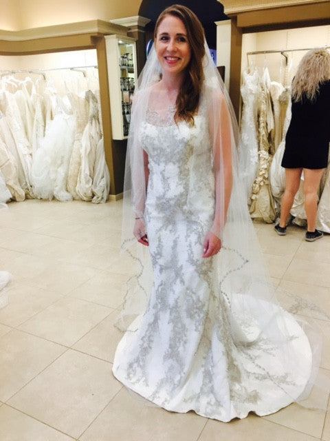 Ines Di Santo 'Illusion' - Ines Di Santo - Nearly Newlywed Bridal Boutique - 1