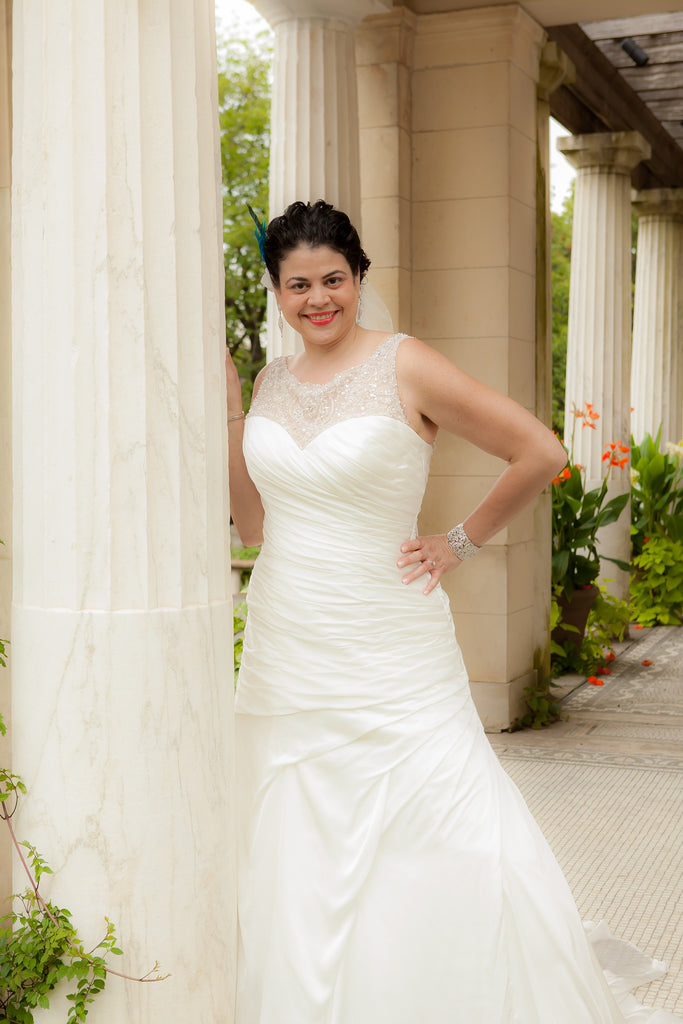 Justin Alexander 'LIllian West 6312' - JUSTIN ALEXANDER - Nearly Newlywed Bridal Boutique - 2