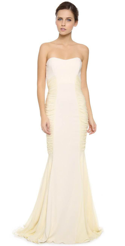Badgley Mischka 'Ruched' - Badgley Mischka - Nearly Newlywed Bridal Boutique - 1