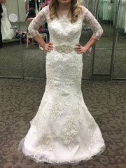Oleg Cassini 'Illusion' - Oleg Cassini - Nearly Newlywed Bridal Boutique - 2