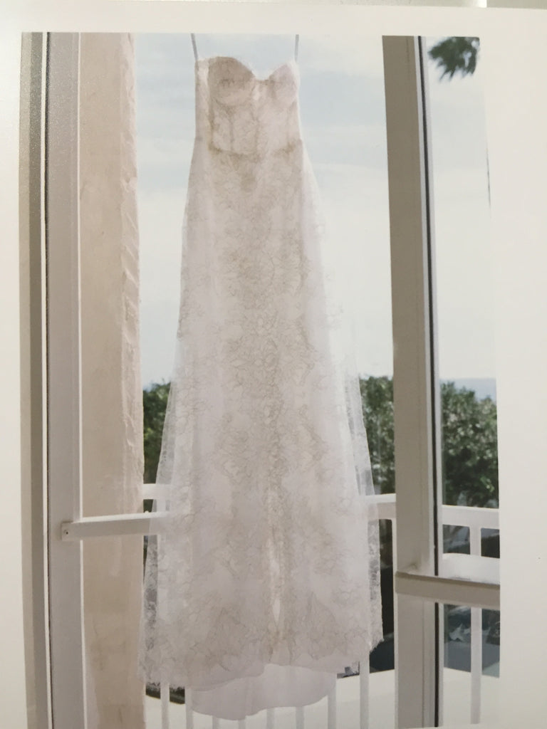 Monique Lhuillier 'Cheyenne' - Monique Lhuillier - Nearly Newlywed Bridal Boutique - 3