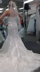 Oleg Cassini 'Satin' - Oleg Cassini - Nearly Newlywed Bridal Boutique - 1