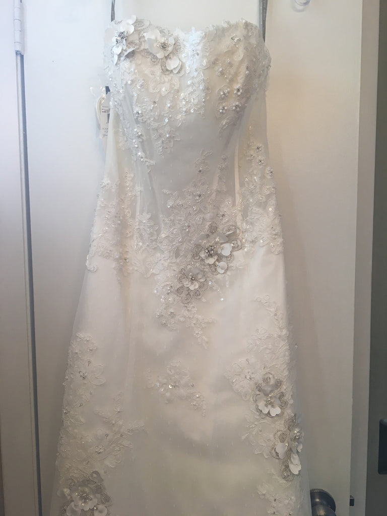 Alfred Angelo 'Sapphire' - alfred angelo - Nearly Newlywed Bridal Boutique - 2
