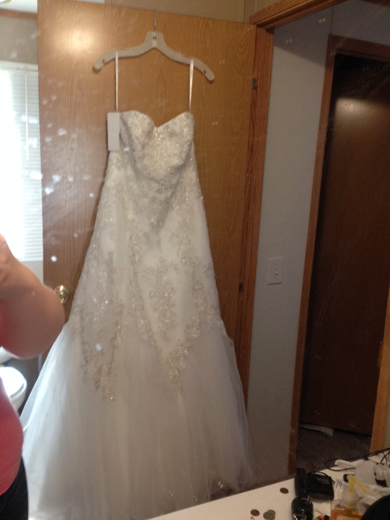 David's Bridal 'Jewel' - David's Bridal - Nearly Newlywed Bridal Boutique - 3
