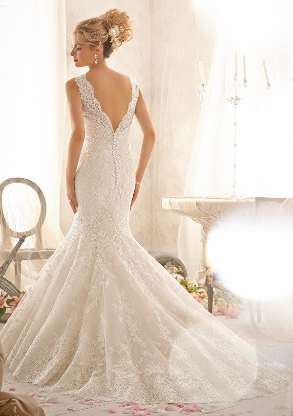 Mori Lee '2605' - Mori Lee - Nearly Newlywed Bridal Boutique - 1