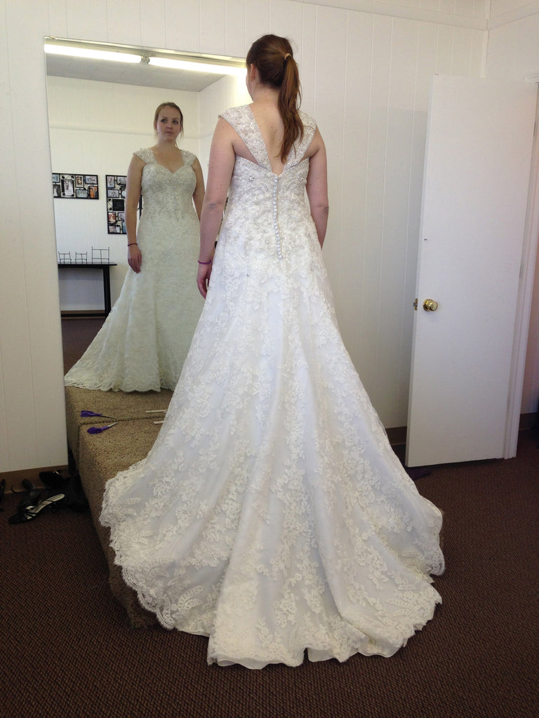Mori Lee '1907' - Mori Lee - Nearly Newlywed Bridal Boutique - 3