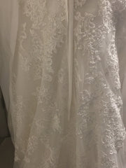Maggie Sottero 'Stella' size 18 new wedding dress back view