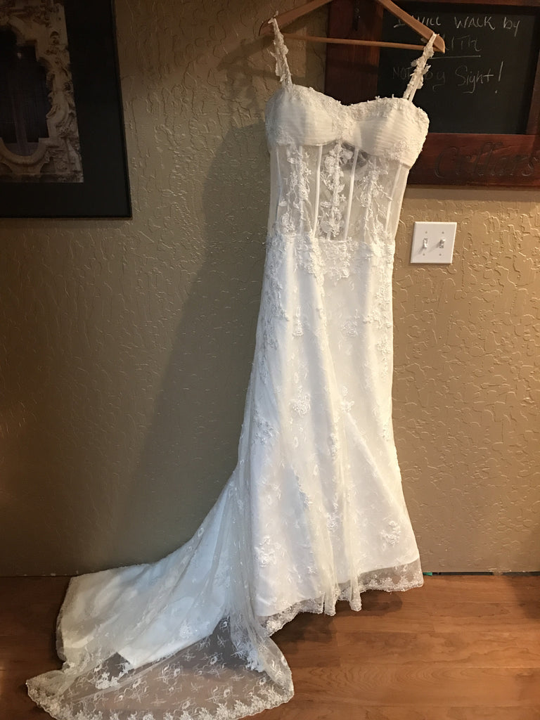 2Be Bride \'Pnina Tornai Replica\' size 8 used wedding dress - Nearly ...