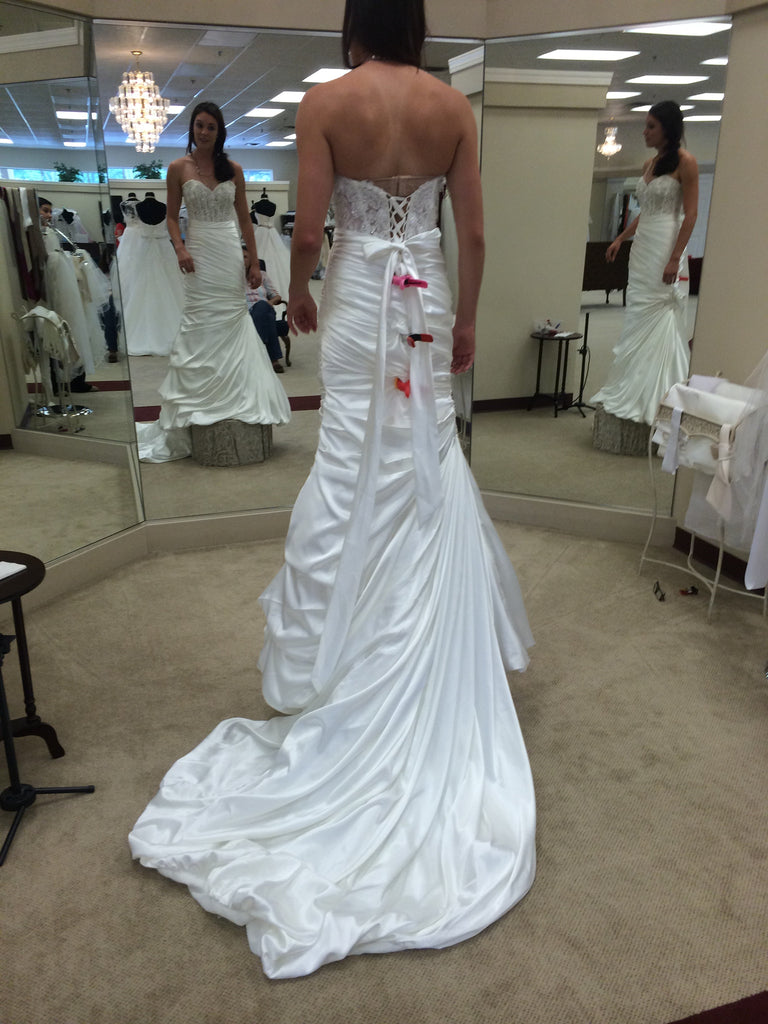 Maggie Sottero 'Fit and Flare' - Maggie Sottero - Nearly Newlywed Bridal Boutique - 2