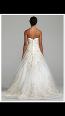 Oleg Cassini 'Strapless Tulle Ballgown' - Oleg Cassini - Nearly Newlywed Bridal Boutique - 2