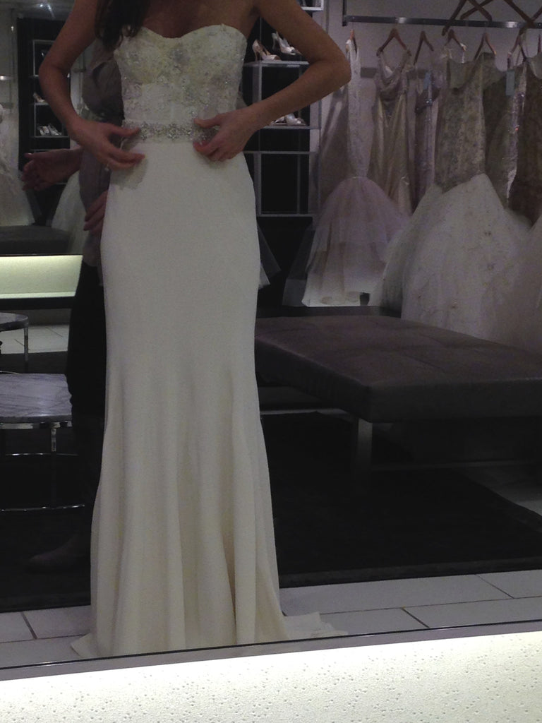 Monique Lhuillier 'Custom Made Gown' - Monique Lhuillier - Nearly Newlywed Bridal Boutique - 1
