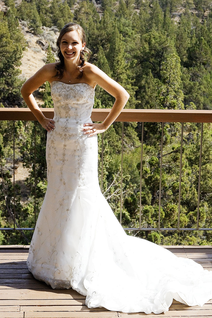Jasmine Haute Couture Gown - Jasmine - Nearly Newlywed Bridal Boutique - 6