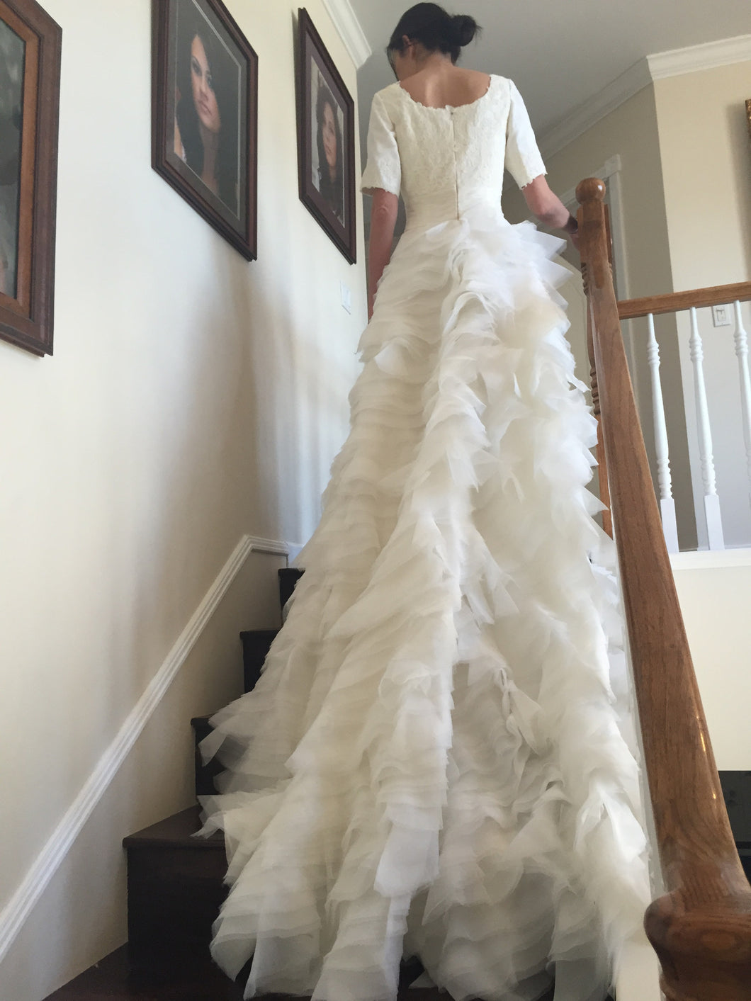 Custom Made 'Tulle Gown' - tulle - Nearly Newlywed Bridal Boutique - 1