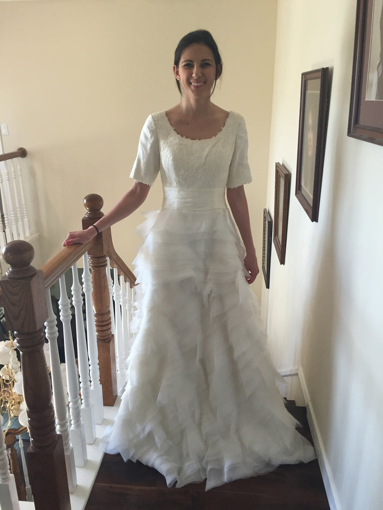 Custom Made 'Tulle Gown' - tulle - Nearly Newlywed Bridal Boutique - 2