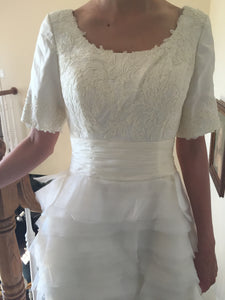 Custom Made 'Tulle Gown' - tulle - Nearly Newlywed Bridal Boutique - 3