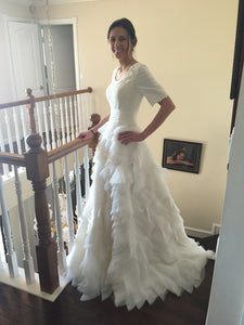 Custom Made 'Tulle Gown' - tulle - Nearly Newlywed Bridal Boutique - 4