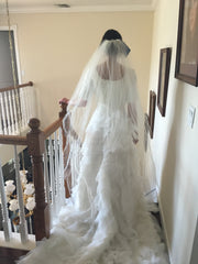 Custom Made 'Tulle Gown' - tulle - Nearly Newlywed Bridal Boutique - 5