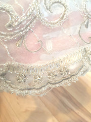 Ysa Makino '253579' size 8 used wedding dress close up of detail
