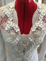 Badgley Mischka 'Elegant Lace' - Badgley Mischka - Nearly Newlywed Bridal Boutique - 3