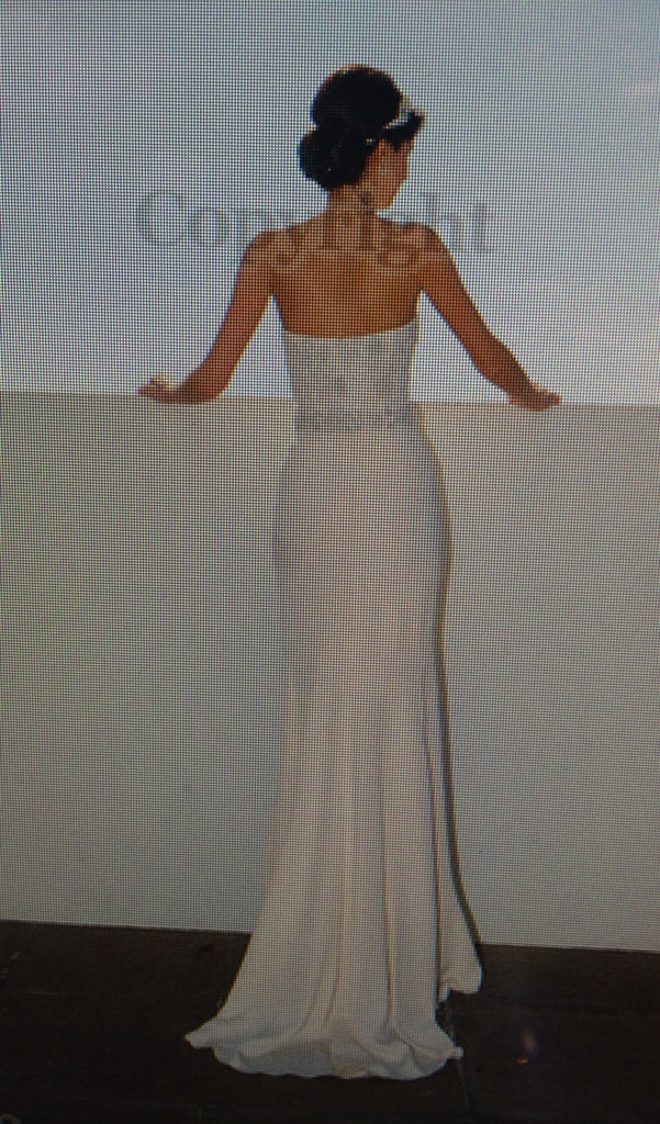Monique Lhuillier 'Custom Made Gown' - Monique Lhuillier - Nearly Newlywed Bridal Boutique - 3