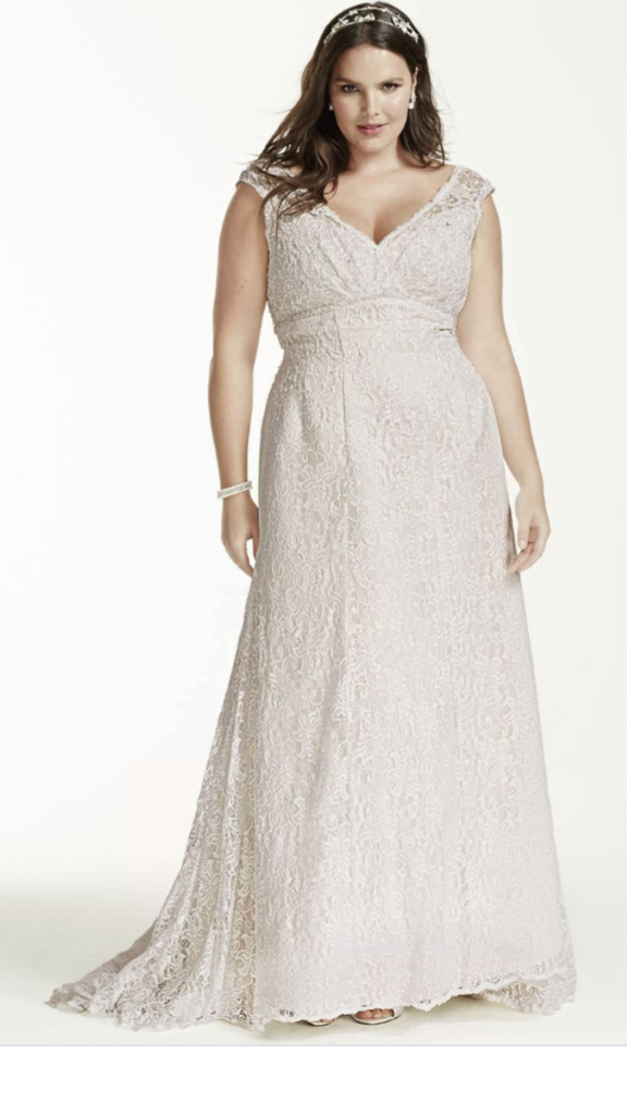 David's Bridal 'Beaded' - David's Bridal - Nearly Newlywed Bridal Boutique - 1