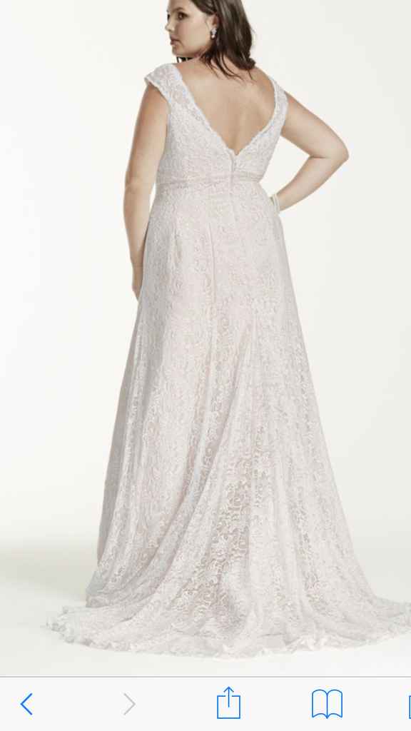 David's Bridal 'Beaded' - David's Bridal - Nearly Newlywed Bridal Boutique - 2