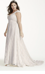David's Bridal 'Beaded' - David's Bridal - Nearly Newlywed Bridal Boutique - 3
