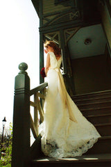 Custom 'Trumpet Gown' - Custom - Nearly Newlywed Bridal Boutique - 3
