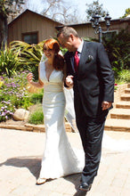 Load image into Gallery viewer, Custom 'Trumpet Gown' - Custom - Nearly Newlywed Bridal Boutique - 4