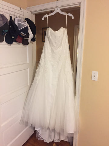 David's Bridal 'Strapless'