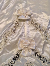 Load image into Gallery viewer, Mori Lee 'Princess' size 12 used wedding dress view of trim
