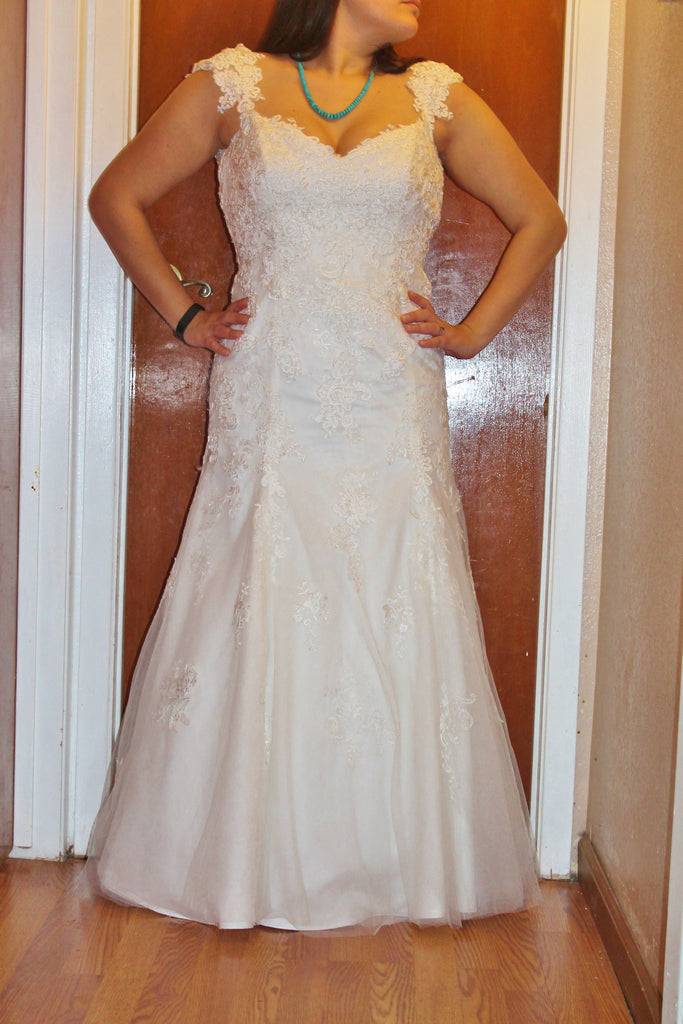 Alfred Angelo '1716161' - alfred angelo - Nearly Newlywed Bridal Boutique - 1