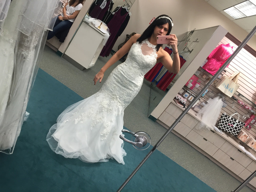 David's Bridal 'Jewel' - David's Bridal - Nearly Newlywed Bridal Boutique - 4