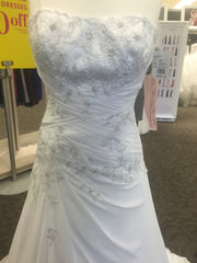 David's Bridal 'White Soft Rich' - dAVIDS bRIDAL - Nearly Newlywed Bridal Boutique - 3