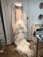 Inbal Dror 'VIP' size 4 new wedding dress front view on hanger