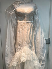Inbal Dror 'VIP' size 4 new wedding dress front view close up on hanger