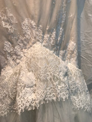 Inbal Dror 'VIP' size 4 new wedding dress back view close up on hanger